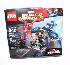LEGO MARVEL SUPER HEROES 76036 ULTIMATE SPIDER MAN CARNAGE SHIELD SKY ATTACK