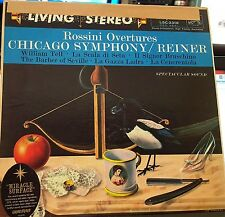 Rossini Overtures Reiner/Chicago RCA Living Stereo LSC-2318 SD AUDIOPHILE 1S/4S