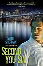 NEW Second You Sin by Sherman, Scott   2011 Softcover Near MInt! Mystery Gay