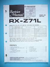 Service Manual für Pioneer RX-Z71L  ,ORIGINAL