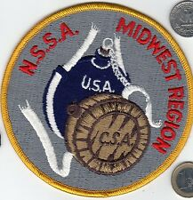 NSSA Civil War USA CSA Canteen Patch MIDWEST REGION Black Powder Rifle Skirmish