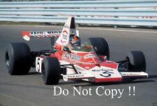 Emerson Fittipaldi McLaren M23 Monaco Grand Prix 1974 Photograph 2