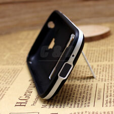 Mix Hard Soft Rubber Cover Case for Samsung Galaxy Trend Plus GT-S7580 S7582 b