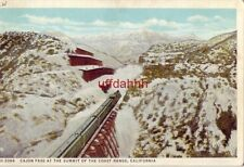 CAJON PASS AT THE SUMMIT OF THE CAST RANGE CALIFORNIA A Fred Harvey Post Card