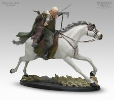 Legolas and Gimili on Arod - LotR Polystone Statue SideShow Collectibles