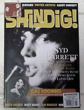 UK SHINDIG Magazine 2016 Issue No 60 SYD BARRETT PINK FLOYD Gaz Coombes NIRVANA
