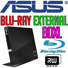 Asus SBC-06D2X-U BDXL Blu-ray DVD±RW External USB Black Slim Burner Writer NEW