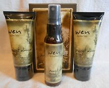 Wen 3pc Travel Kit ~ 2x 2oz Cleansing Conditioner + 2oz Mist Sweet Almond Mint