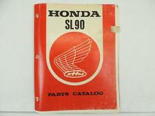 Vintage 1976 Honda SL90 Dealer Parts Catalog L6082