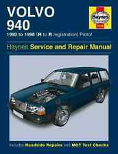 Haynes Workshop Manual Volvo 940 1990-1998 Saloon Estate Ltd Editions Petrol