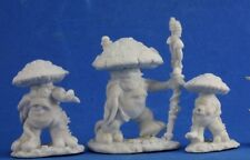 MUSHROOM MEN (3) - Reaper Miniatures Dark Heaven Bones - 77345