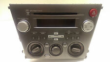 Original 2007-2009 Subaru Legacy Radio  CD MP3 Klima Bedienteil  86201AG69B