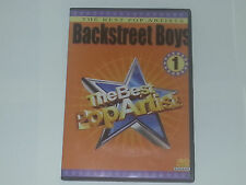 BACKSTREET BOYS Karaoke Dvd Video The Best Pop Artists Volume #1