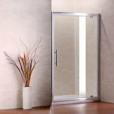 760x1850mm Pivot Shower Enclosure Walk In Cubicle Glass Screen Door P6