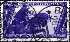ITALIA - Regno - 1932 - Decennale della Marcia su Roma - 50 c. - Mussolini condo
