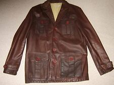 John Rocha Leather jacket large