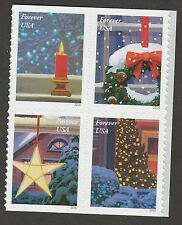 US 5146a Holiday Windows forever block set (4 stamps) MNH 2016