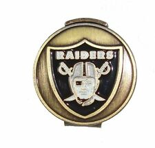 Oakland Raiders Hat Clip with Golf Ball Marker
