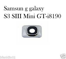 Rear Camera Lens Cover Frame For Samsung Galaxy S3 SIII Mini i8190