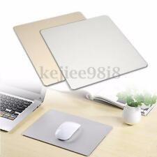 Aluminum Alloy Super Smooth Mousepad Gaming Mice Mouse Mat for Macbook Apple PC