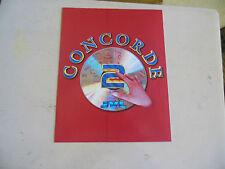 CONCORDE 2     ARCADE   GAME  FLYER