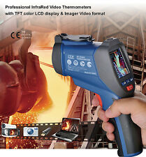 DT-9862 Professional 50:1 IR Dual Laser Video Thermometer Type K with Camera USB
