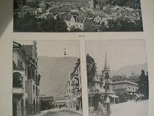 L'illustrazione italiana del 1918  le nuove terre italiane MERANO BRENNERO