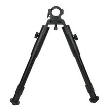 "Clamp-on Barrel-Mount Folding Bipod 8""-10"" Spring Return Rest Fit For Rifle Gun"