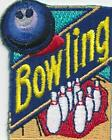 girl boy cub BOWLING ALLEY Fun Patches Crests badges SCOUTS GUIDES trip day game
