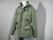 NWT TRUE RELIGION Military Field Jacket M65 Cotton Army Green  size XXXL(3XL)