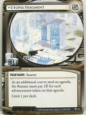 Android Netrunner LCG - 1x Utopia Fragment  #110 - The Source