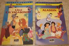 """Lotto/Stock/Giornalino/Fumetti """" ALADDIN+LILLI E IL VAGABONDO """" Walt Disney/Pz.2"""