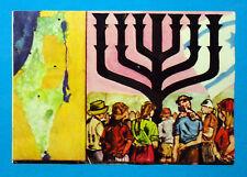 CRONISTORIA MONDIALE Folgore '65-Figurina-Sticker n.209-NASCITA ISRAELE 1948-Rec