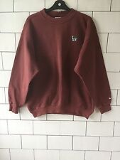 MENS USA VINTAGE RETRO 90'S RUSTY NIKE AIR TRASHED SWEATSHIRT SWEATER JUMPER