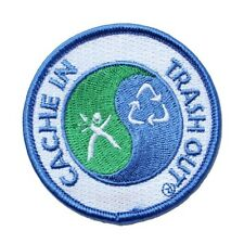 Cache In Trash Out - CITO - Patch For Geocaching