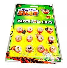 Sure Shot Paper Roll Caps Sure Shot Cap x 1 pack Of 12 X 100 Shot
