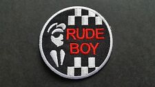 MOD SKA SCOOTER SEW ON / IRON ON PATCH:- PATCH No 1236 NAME TO FOLLOW