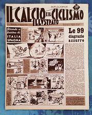 Il calcio e il ciclismo illustrato 1959 n°8 Lanerossi, Bologna, Napoli     23/6