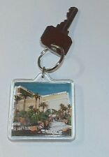 Mirage Hotel Casino Las Vegas Keyring and Fob Vintage with Key
