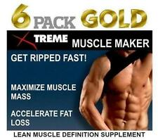 Lean Muscle Pills Pro Growth Builder  Abs Bodybuilding Tablets X Ripped Mass 60