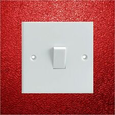 Red Textured Pattern Electrical Light Switch Surround Printed Vinyl Sticker