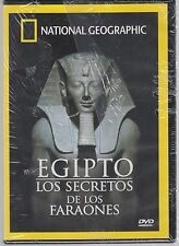 DVD - Egipto Los Secretos De Los Faraones NEW National Geographic FAST SHIPPING!