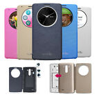 LG G3 Quick Circle Wireless Charging NFC Smart Flip PU Leather Case Cover
