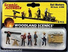 Woodland Scenics HO/HOn3 Set of Rail Workers (1898)
