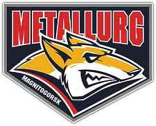 "Metallurg Magnitogorsk KHL Hockey Car Bumper Window Locker Sticker Decal 5""X4"