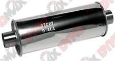 "Dynomax 17263 Ultra Flo SS Muffler Round 2.5"" ID 6"" Stainless"