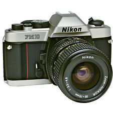 New NIKON FM10 SLR Film Camera and Ai Zoom Nikkor 35-70mm Lens -  Japan t