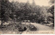 CPA Carte Postale Ancienne Foret de Lente Pont du Brudour