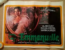 EMMANUELLE  -1974   -   ORIGINAL UK QUAD POSTER .
