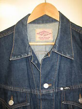 100% GENUINE MENS DENIM LEE COOPER LARGE  JACKET WITH BUTTON FASTENERS